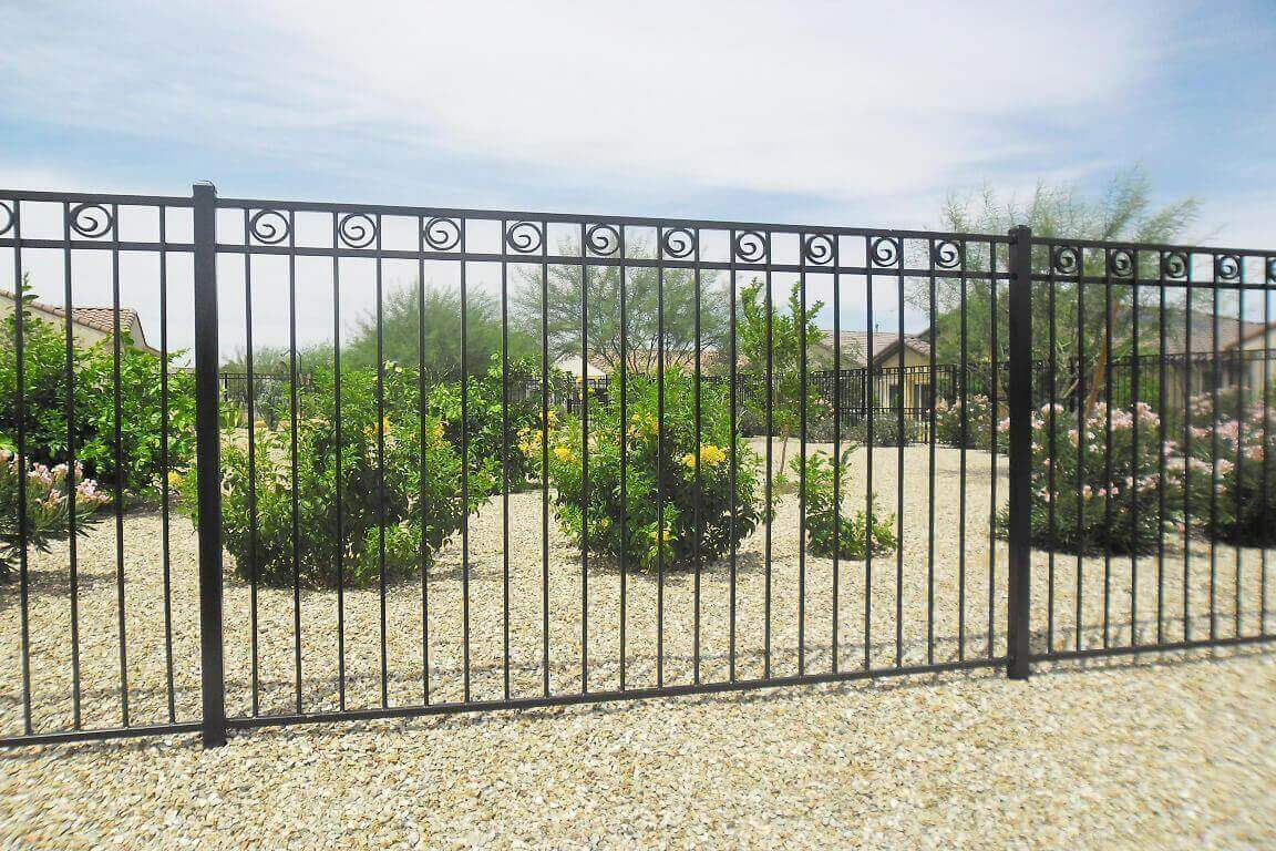 Wrought Iron Steel And Aluminum Fencing Fence Builders