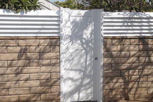 Block door ways and Fencing