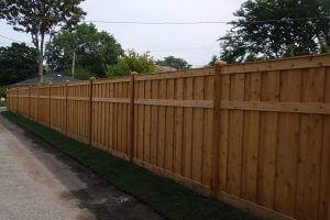 Phoenix Wood Fence