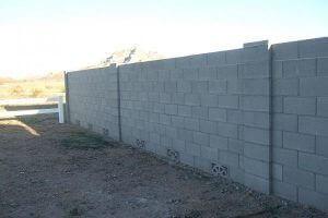 Arizona Standard Block Wall