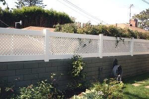 Block and Vinyl Fencing